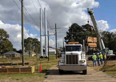 Lake Charles Transmission Line Construction Project