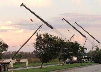 Hurricane Irma Emergency Power Restoration