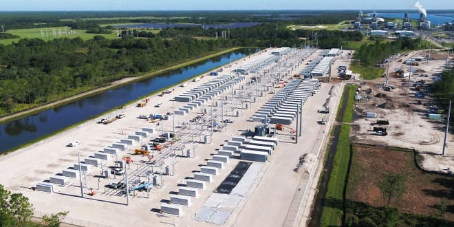 Manatee Battery Energy Storage Center 75% Complete